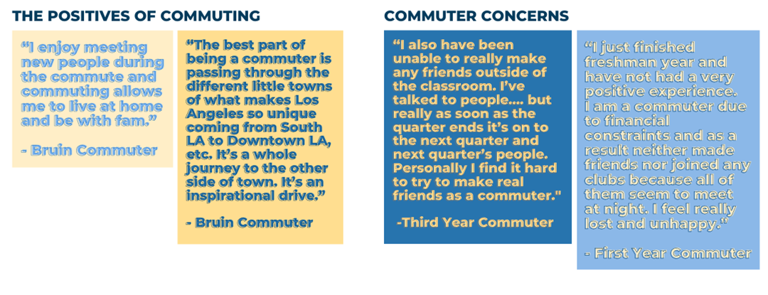The Positives of Commuting and Commuter Concerns